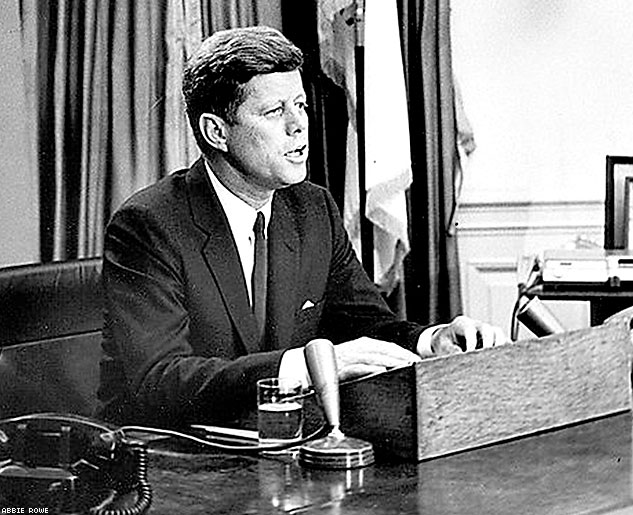 President Kennedy Addresses Nation On Civil RightsX633 0