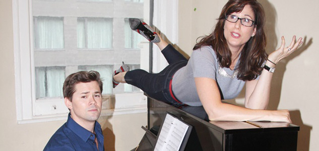 Stephanie J. Block And Andrew Rannells 2 X633 0