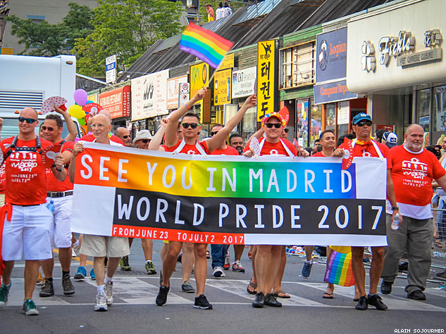 World Pride Parade Toronto Madrid X633 0