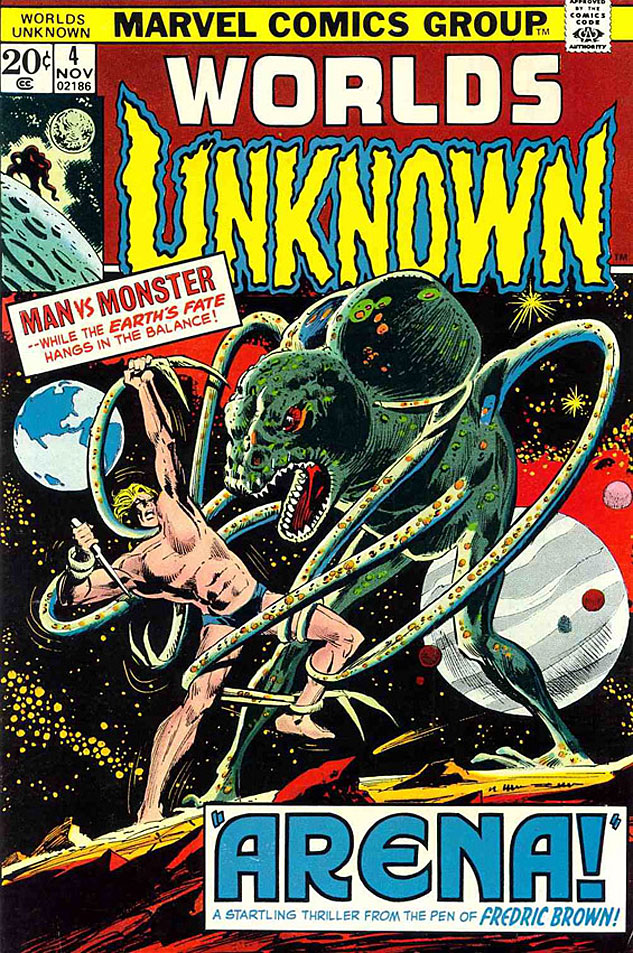 Worlds Unknown Issue 4x633 0