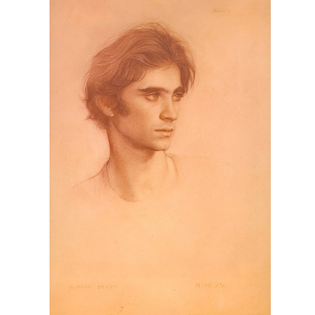 Drawing Young Man Portraitx633 0