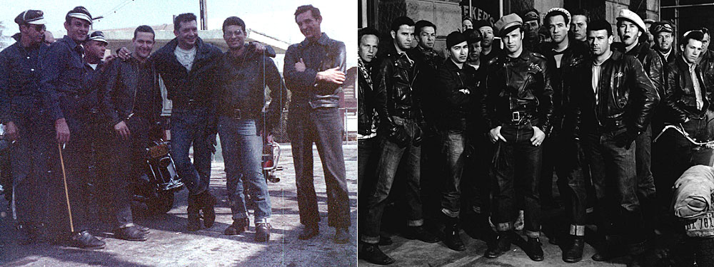 Gay leather biker clubs
