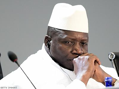 Gambia's Gay-hating Dictator Survives Coup Attempt