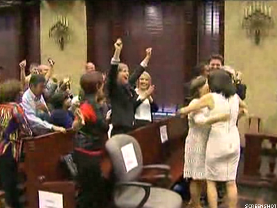 WATCH: Fla. Couples Learn They Can Marry Today