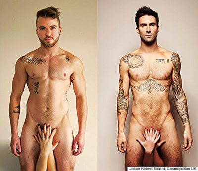 The Naked Truth About Trans Man's Re-Creation of Adam Levine Photo