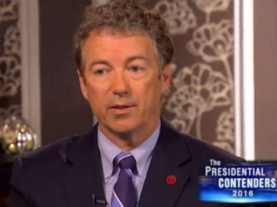 WATCH: Rand Paul Says Same-Sex Marriage 'Offends' Him
