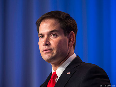 Listen to Marco Rubio Triangulate on Equality