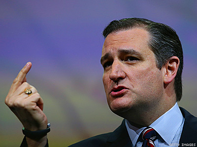 One Day After Ted Cruz's Gay Dinner, He Amps Up Antigay Ideas