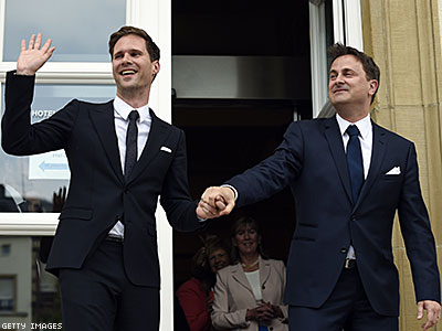 Prime Minister of Luxembourg Marries His Beau