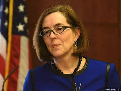 Oregon's Bisexual Gov. Bans Conversion Therapy