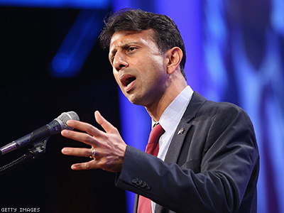 'Desperate' Bobby Jindal Issues Ominous 'Religious Freedom' Executive Order