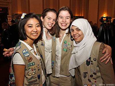 Girl Scouts Reject Hate Group, Welcome Trans Girls