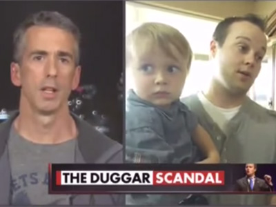 Dan Savage Calls Out Duggar's 'Staggering' Family Values Hypocrisy
