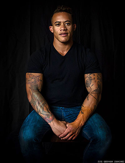 Poised for Perfection: Sgt. Shane Ortega Puts a Face to the Transgender Military Ban
