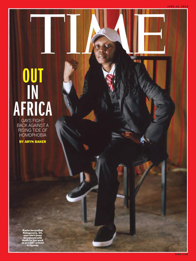 Ugandan Lesbian Covers Time: 'We Are Here to Stay'