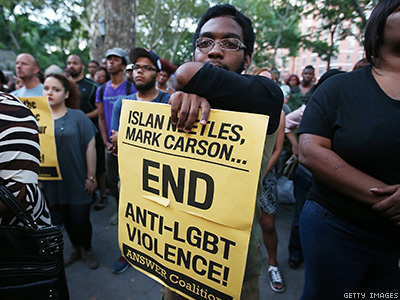 REPORT: Antigay Violence Down, Transphobic Hate Crimes Up