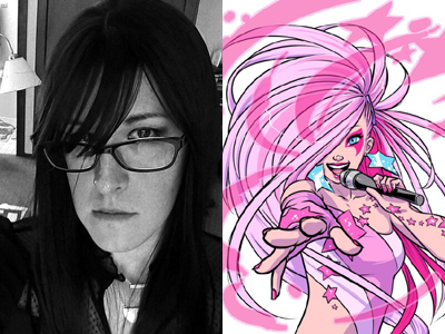 Trans Jem Artist on Coming Out and Creating Comics