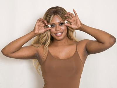 Laverne Cox Gets Ice Cream Flavor Named for Her for Pride