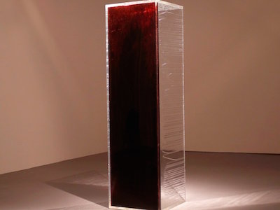 WATCH: Blood Mirror Reflects FDA's Gay Blood Ban in 7-Foot Tower