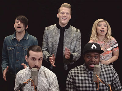 WATCH: A Cappella Group Pentatonix Sings Michael Jackson's Hits