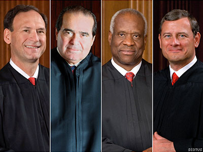 Why These Four Justices Rejected Marriage Equality