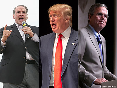 Republican Presidential Candidates Aren't Having a Good Day