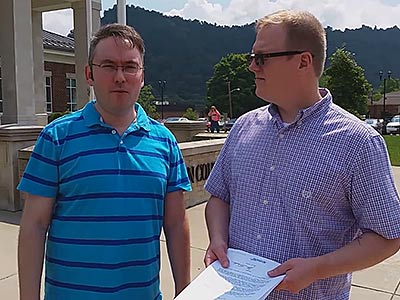 WATCH: Cops Respond to Kentucky Gay Couple Requesting Marriage License