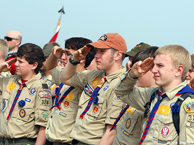 Boy Scouts' Ban on Gay Adults Lifted