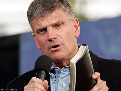 Franklin Graham: Obama Promoting 'Immorality' by Supporting LGBT Rights in Kenya