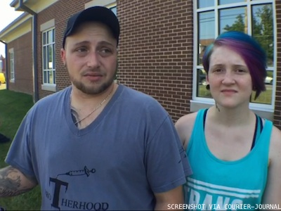 WATCH: Antigay Ky. Clerk Inadvertently Married This Queer Couple