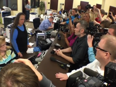 Kentucky Clerk Defies Supreme Court, Denies Same-Sex Couples Marriage Licenses