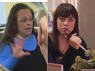 WATCH: Funny or Die Spoofs Kim Davis With Clerks and Recreation
