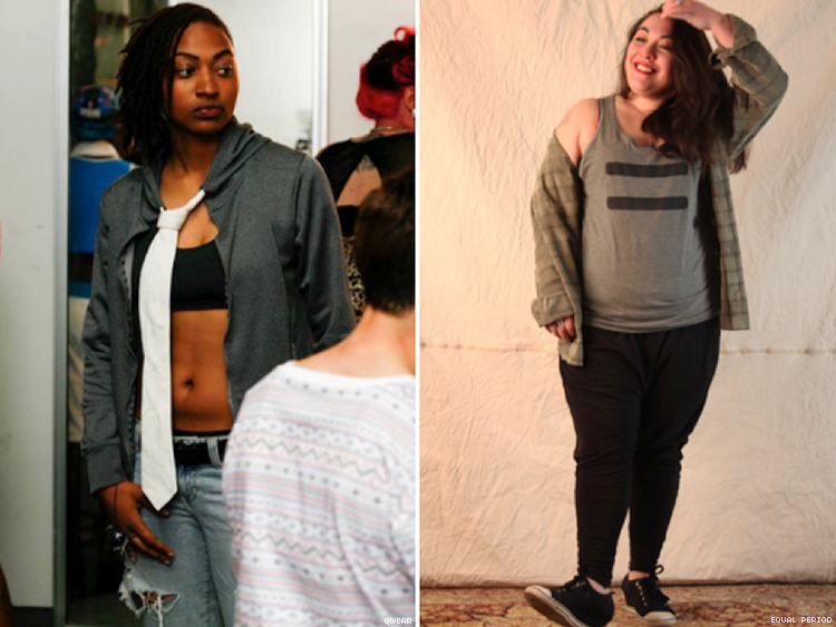 LGBT Fashion Body Positivity