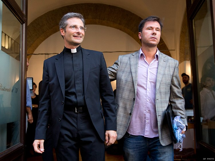 Gay tv and priest sex