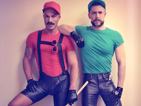 Gay leather party ideas