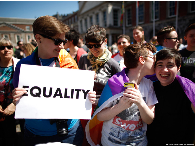 Marriage Equality in Ireland in May 2015