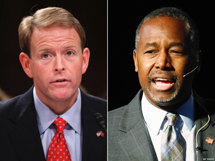 Tony Perkins and Ben Carson