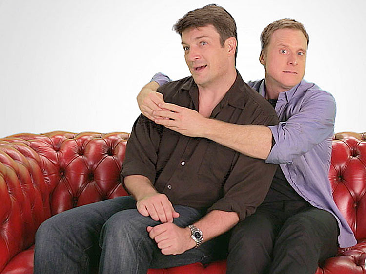 Getting Intimate With Nathan Fillion