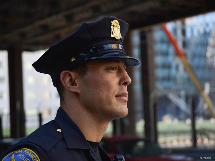 WATCH: 'Hot Cop of Castro' Arrested for Hit-and-Run Crash 2015 Police Charger
