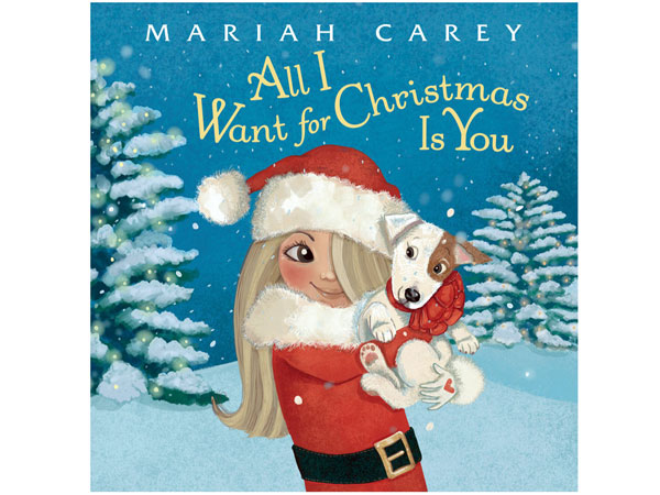 mariah carey's christmas book