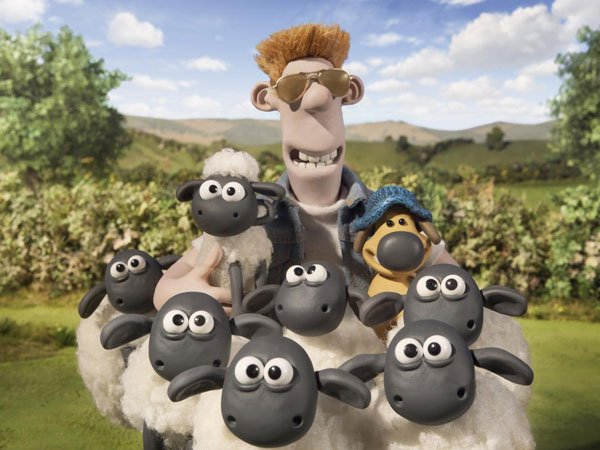 Shaun the Sheep gang