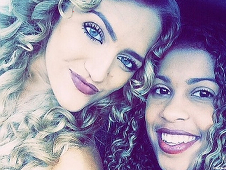 Layana White and Haley Videckis