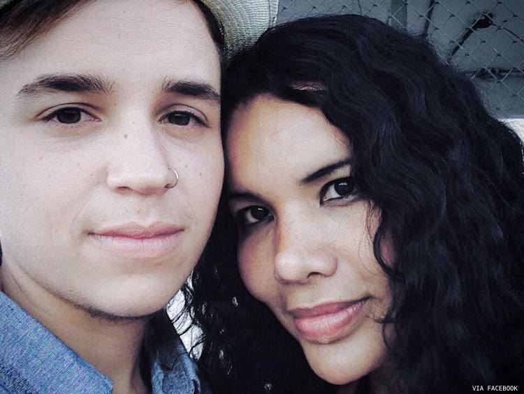 Fernando Machado, left, and Diana Rodriguez