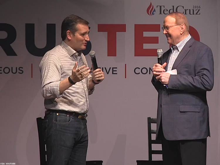 Ted Cruz and James Dobson