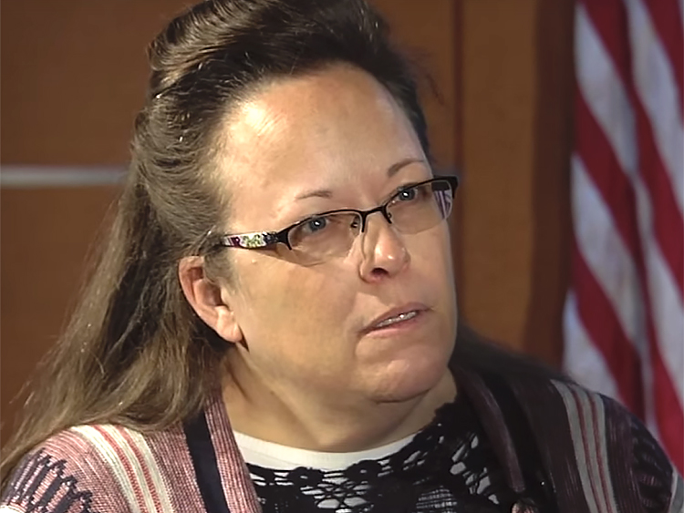 What gay marriage advocate plans to say to Kim Davis