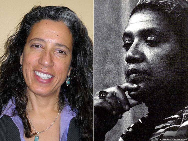 Dr. Elizabeth Lorde-Rollins and Audre Lorde