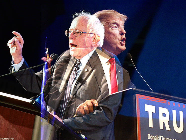 Sanders and Trump: Two Sides of the Same Coin