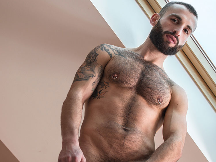 Hairy gay massage
