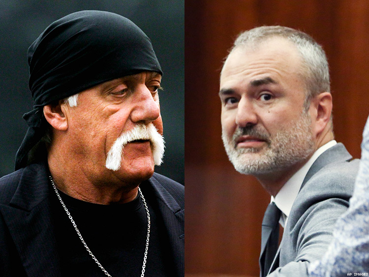 Hulk Hogan and Nick Denton