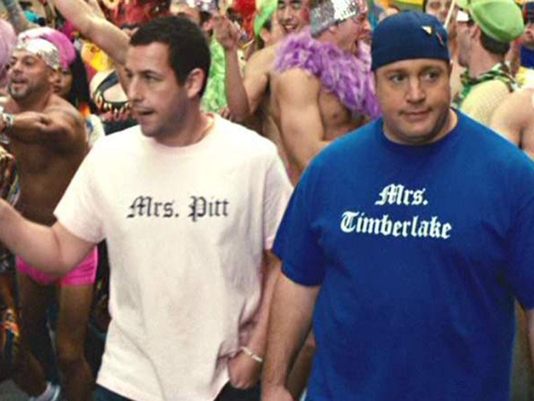 14 Homophobic Moments From Adam Sandler Movies We Won't Miss